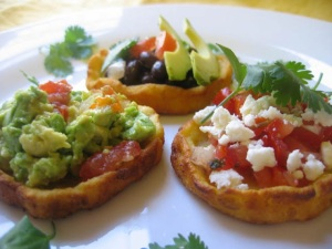 Mexican sopes by LizOlivo.com
