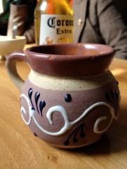 cafe de olla + corona pour petit dejeuner