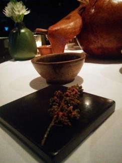 tempura de huauzontle