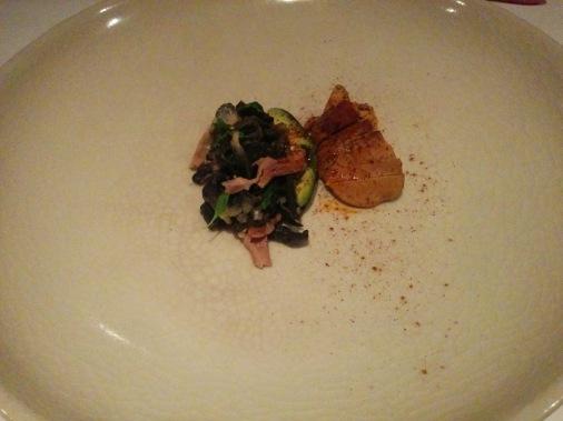 Cuitlacoche, molleja et higado
