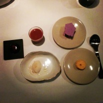 Final feliz - les desserts en mignardises