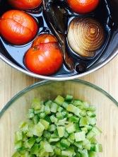 Ingrédients cuits