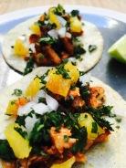 tacos al pastor DR Liz Olivo