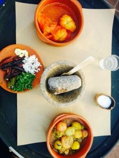 Ingrédients sauce Oaxaca