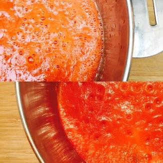 Sauce tomate crue/cuit
